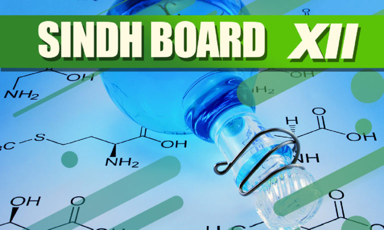 Chemistry - XII Second Year - Sindh Board