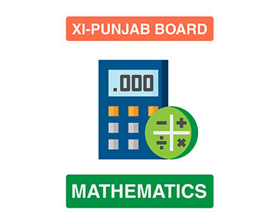 Mathematics - XI First Year - Punjab Board