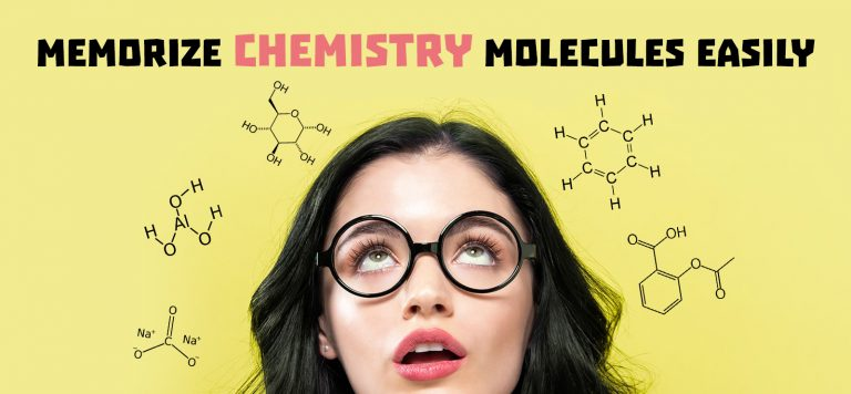 memorize chemistry molecules easily